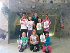 Kidsgruppe Andre bei Young moves 205 in ZW